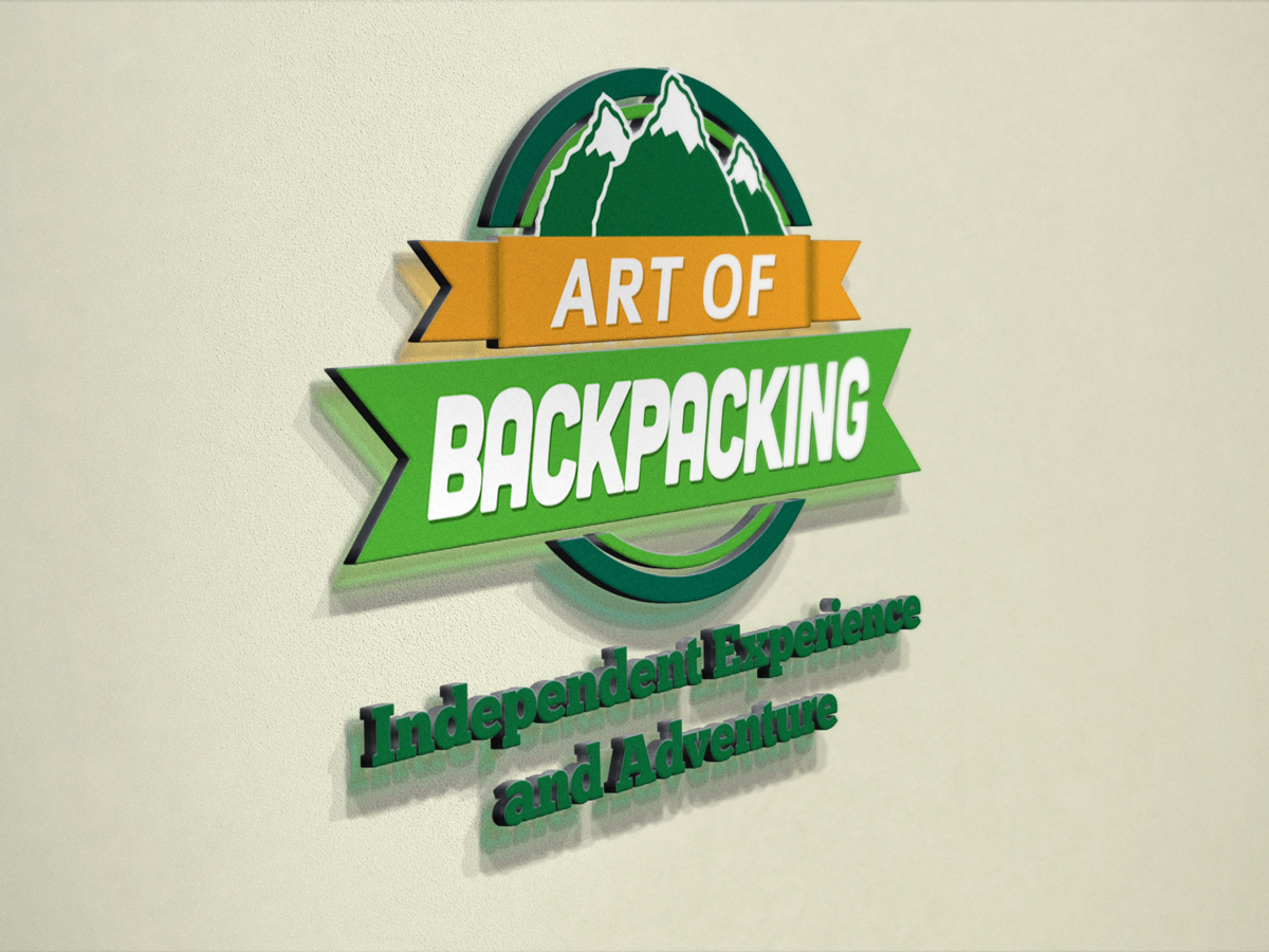 Art Of Backpacking Mockup